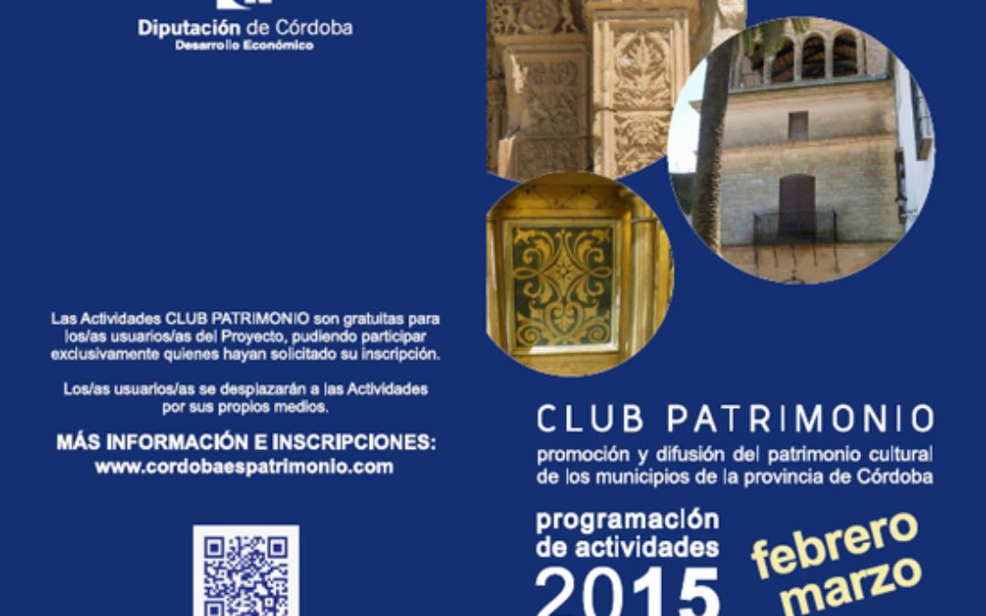 Club Patrimonio 2015