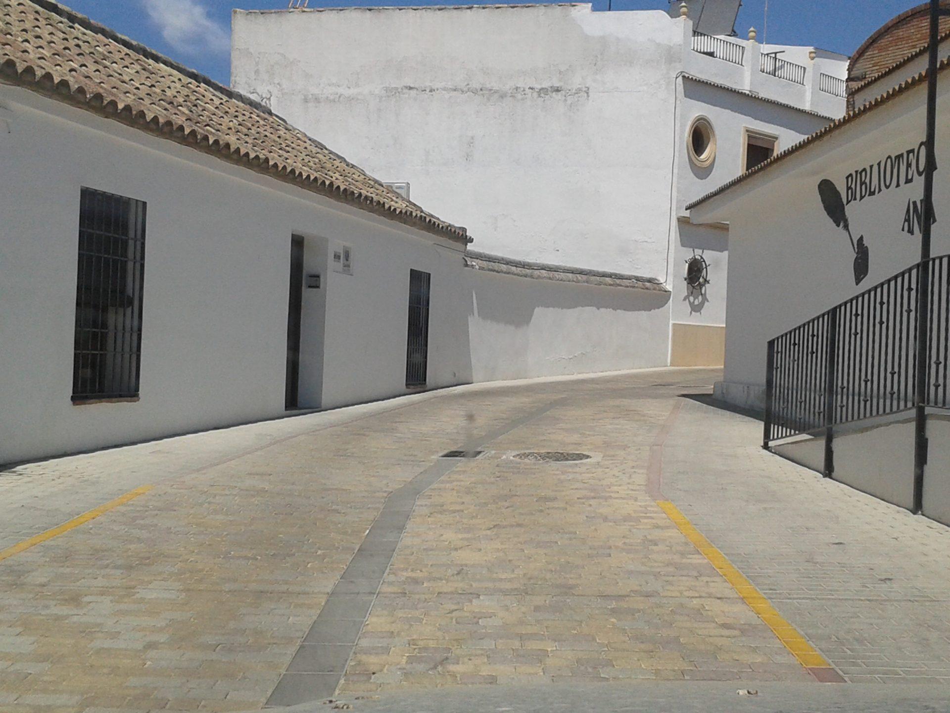 Pavimentación calle Rafael Mateos 1