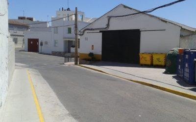 Acerados calle Almacenes