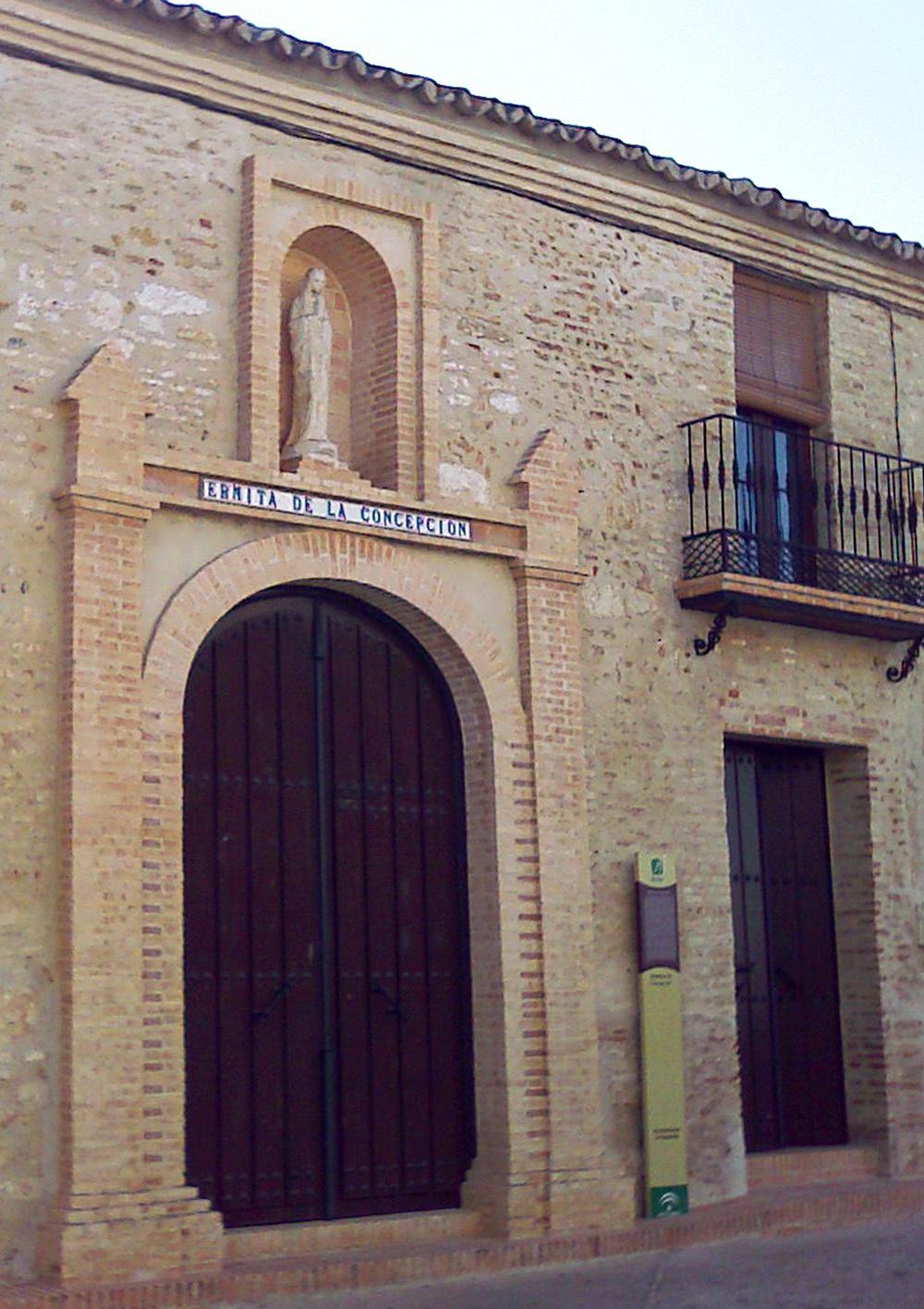 Foto de la ermita de la Concepción