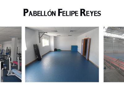 INSTALACIONES PABELLÓN MUNICIPAL FELIPE REYES