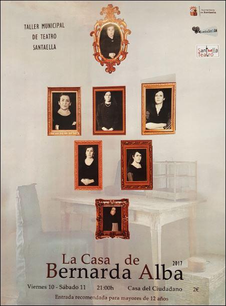 Obra de Teatro La Casa de Bernarda Alba 1