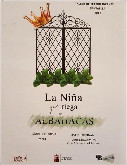 Obra de Teatro La Niña que riega las ALBAHACAS 1