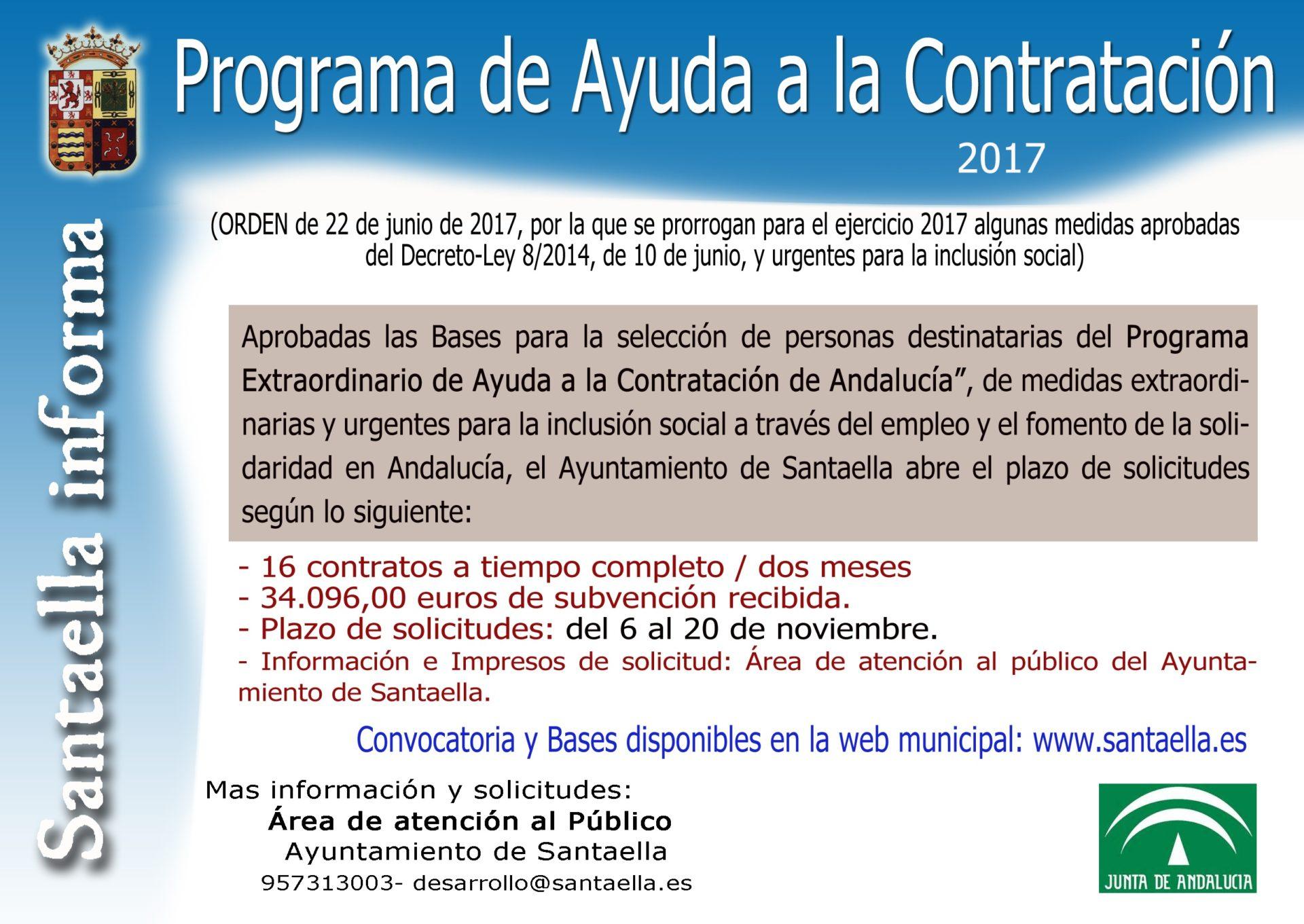 AYUDA A LA CONTRATACIÓN 2017 1