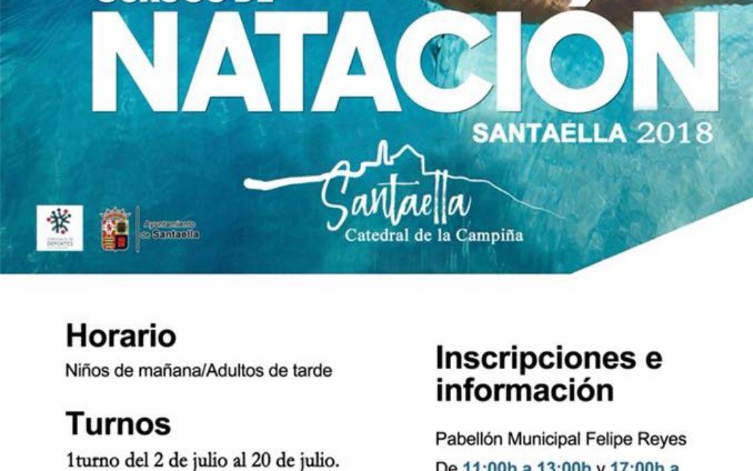 CURSOS DE NATACIÓN EN SANTAELLA
