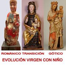 EVOLUCIÓN VIRGEN NIÑO