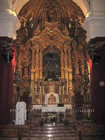 RETABLO MAYOR ERMITA DEL VALLE