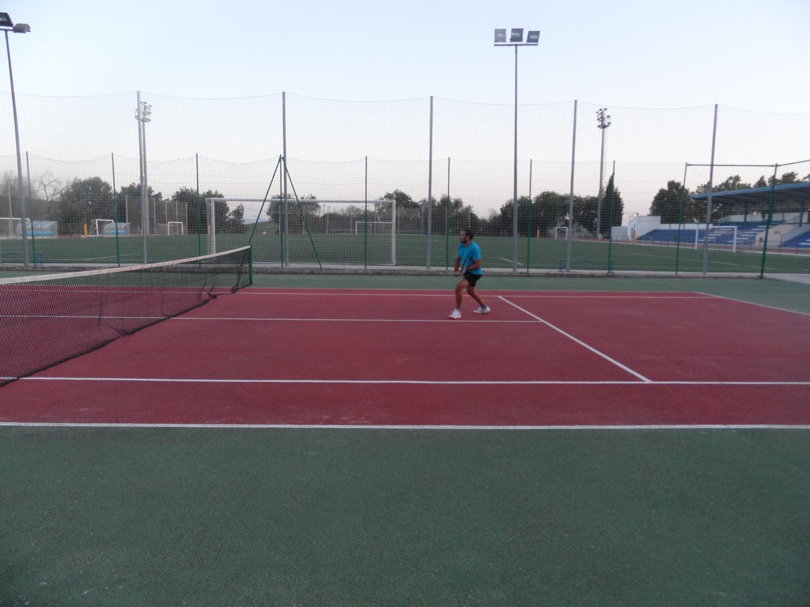 Foto de la pista de tenis