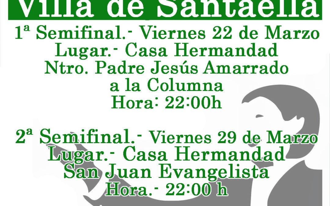 XII CONCURSO DE SAETAS VILLA DE SANTAELLA
