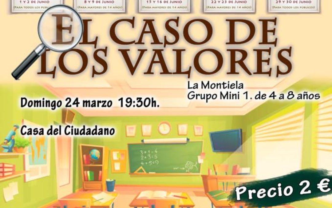 EL CASO DE LOS VALORES – FESTIVAL DE TEATRO