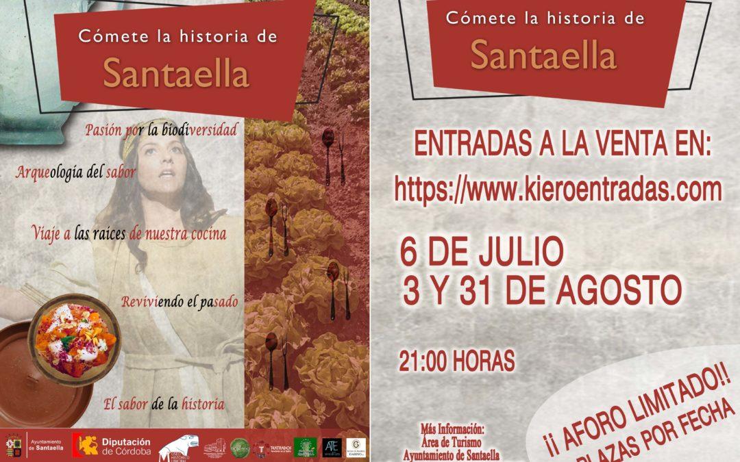 CÓMETE LA HISTORIA DE SANTAELLA
