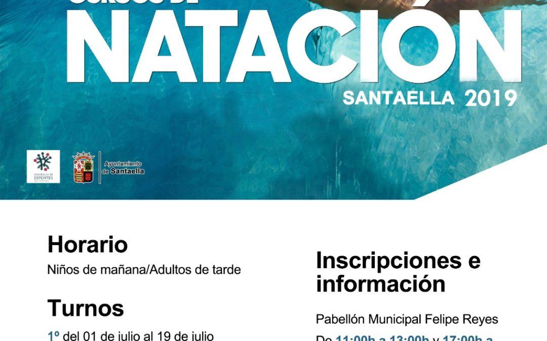 CURSOS DE NATACIÓN SANTAELLA 2019