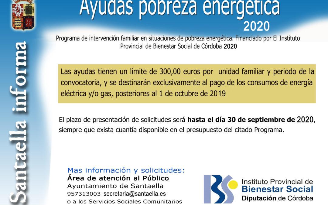 AYUDAS POBREZA ENERGÉTICA 2020