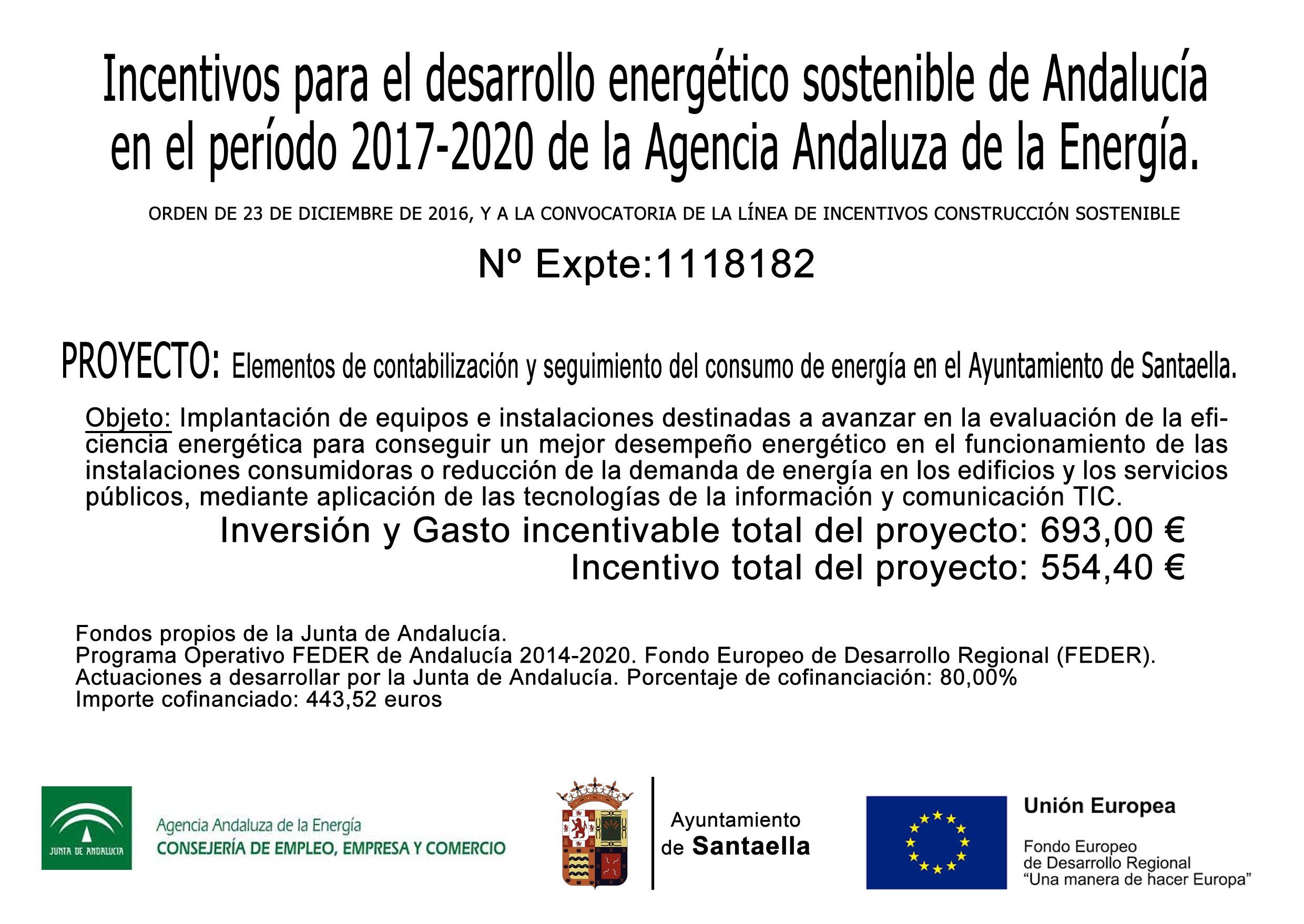 Cartel incentivos dearrollo energético sostenible expediente 1118182