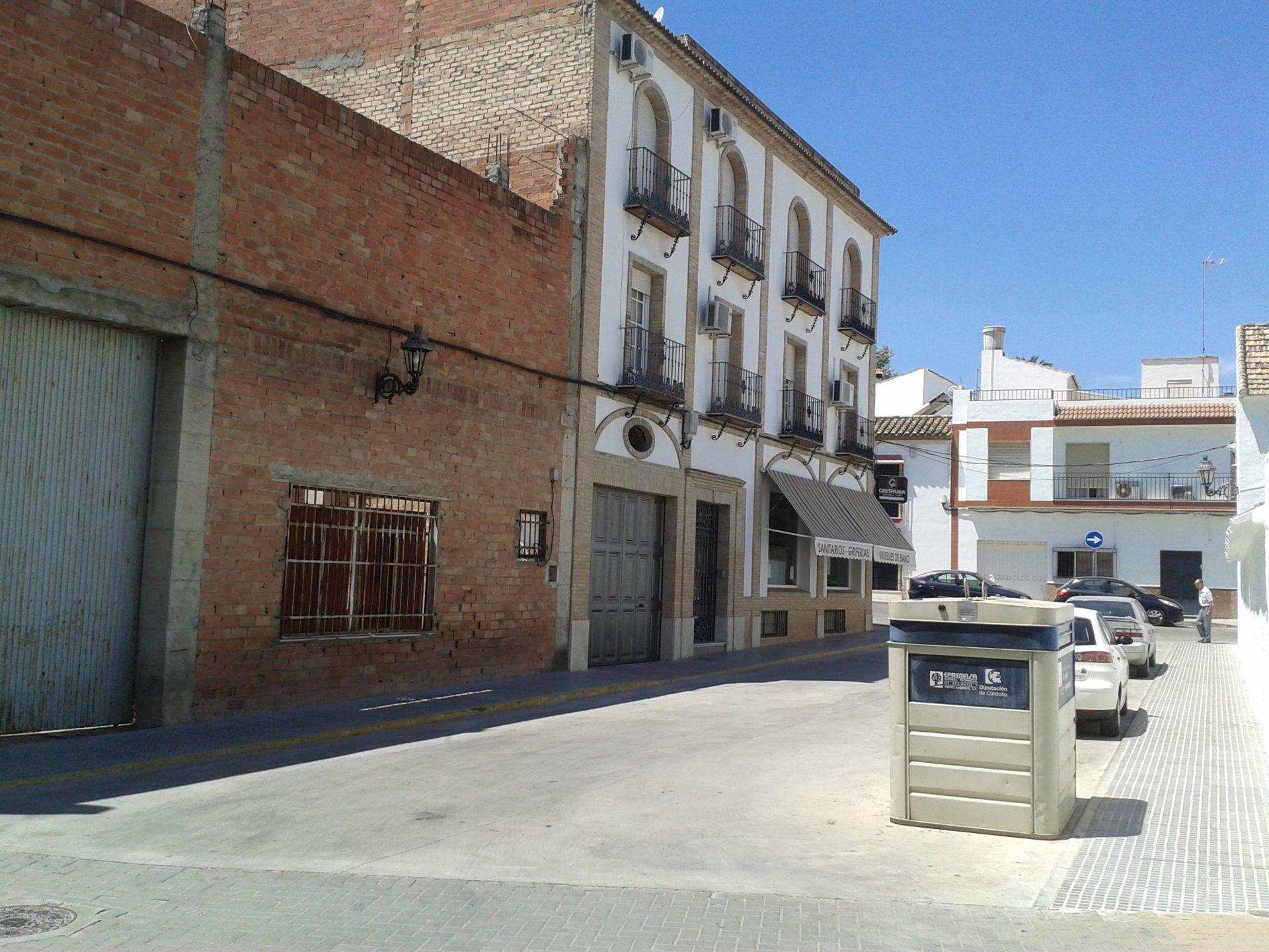Pavimentación calle Posadas 2