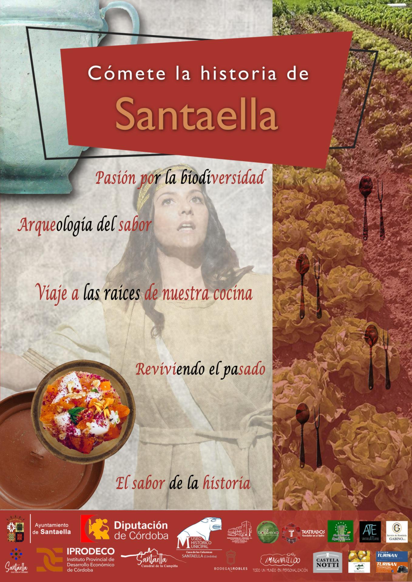 """Enlace a """"cómete la historia de Santaella"""""""