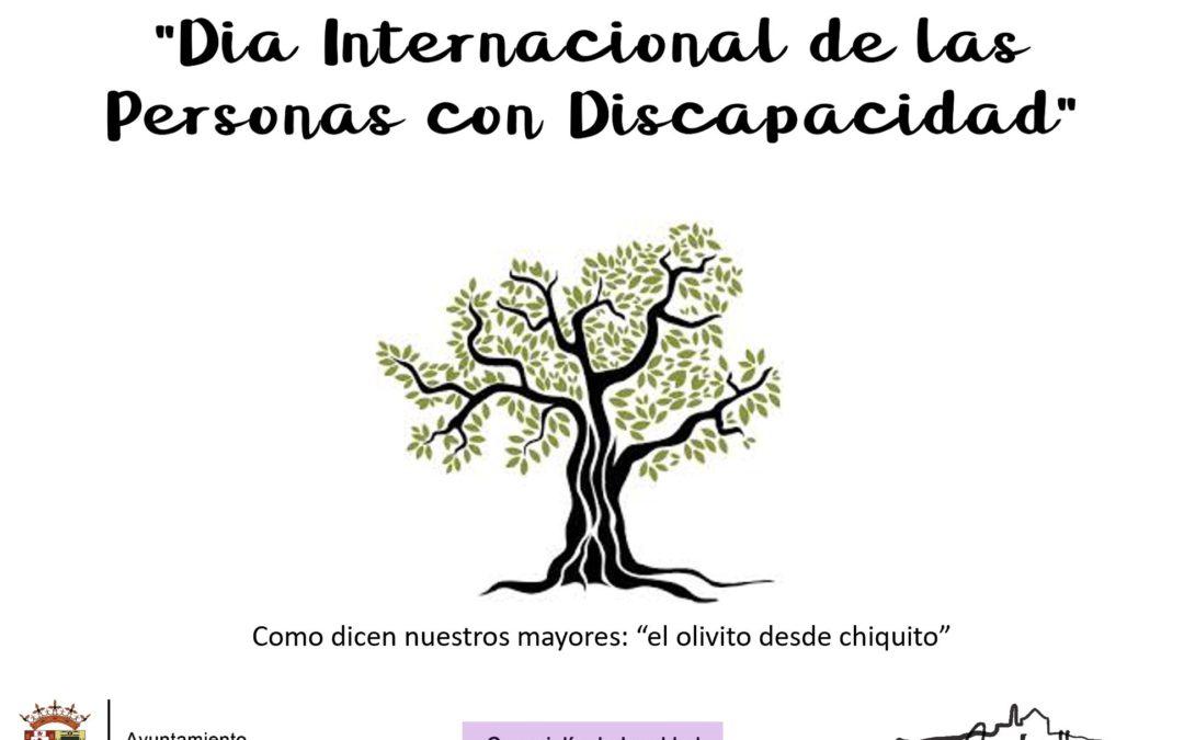 3 DE DICIEMBRE. DIA INTERNACIONAL DE LAS PERSONAS CON DISCAPACIDAD