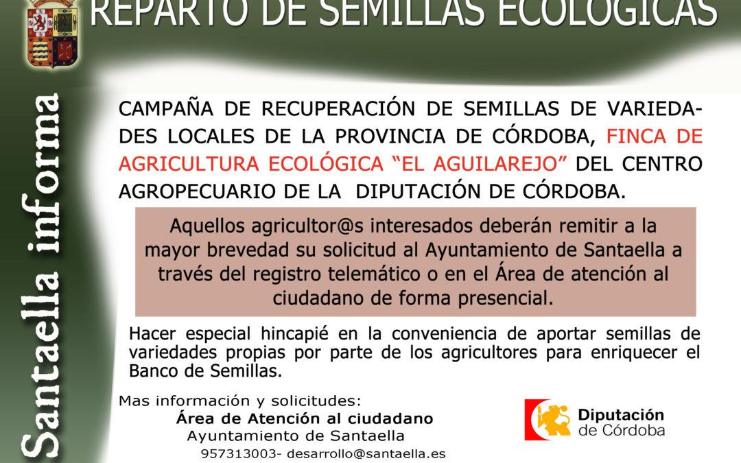 REPARTO DE SEMILLAS 2021